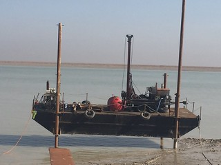 Geotechnical Drilling, Khor Al-Zubair, Iraq | by Earth & Marine Environmental Consultants (EAME)