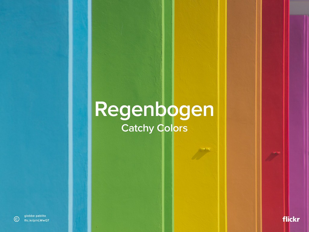 Catchy Colors: Regenbogen