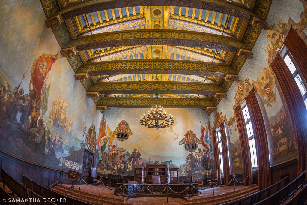 Santa Barbara Courthouse Mural Room Read My Blog Like Me Flickr
