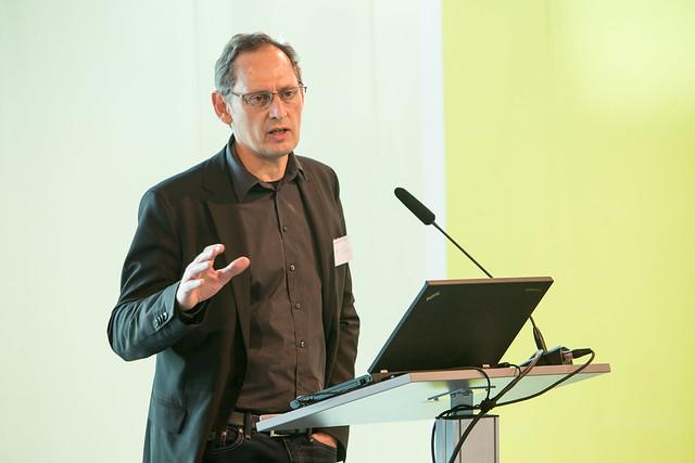 Neujahrstagung der Grünen Akademie, Vortag Dr Steffen Angenendt, swp Stiftung Wissenschaft und Politik Foto: Philipp Reiss