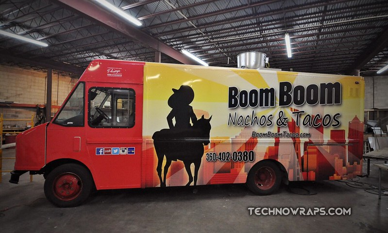Food truck wrap Orlando