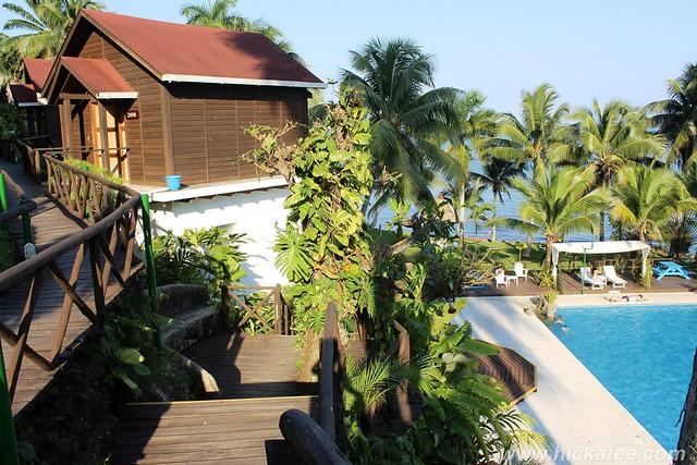 Livingston, Guatemala - Hotel Villa Caribe pool  116