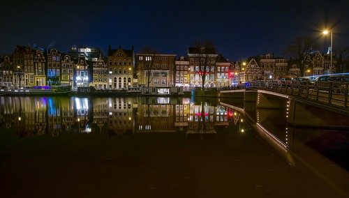 street city longexposure travel holland netherlands amsterdam architecture buildings canal cityscape view nikond5300