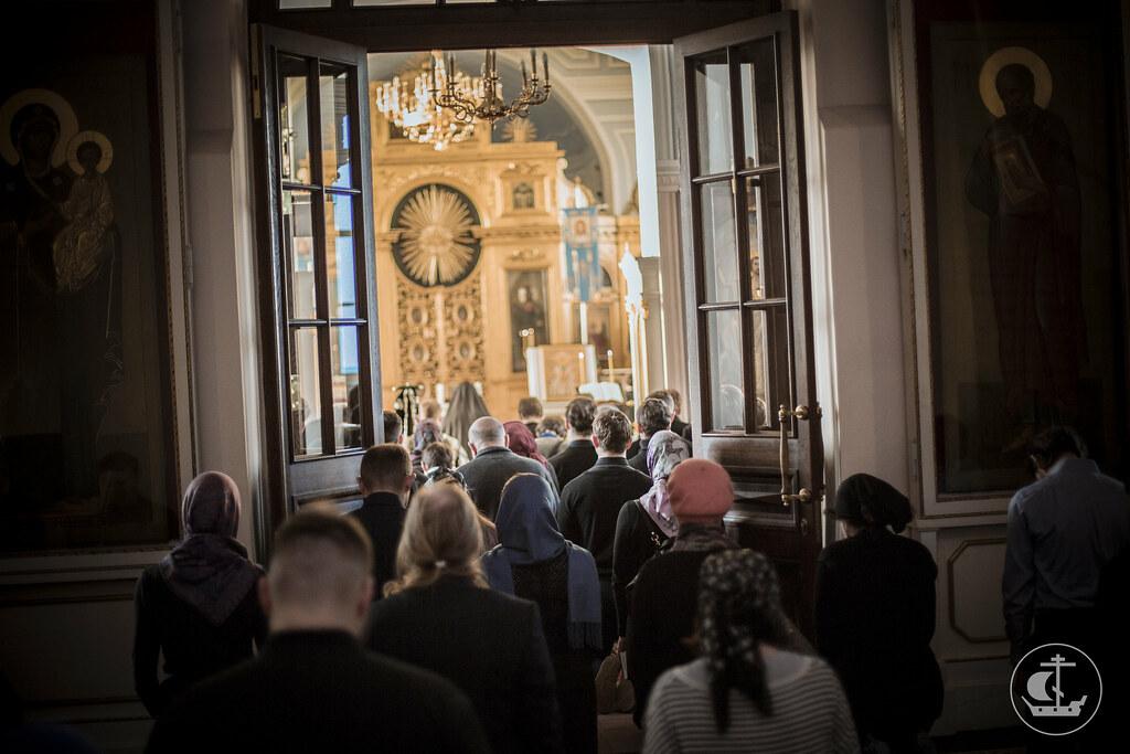 16 марта 2016, Среда Первой седмицы Великого поста. Вечер / 16 March 2016, Wednesday of the 1st Week of Great Lent. Evening