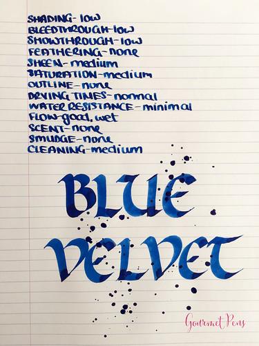 Ink Shot Review Diamine 150th Anniversary Blue Velvet @AppelboomL (3) | by GourmetPens