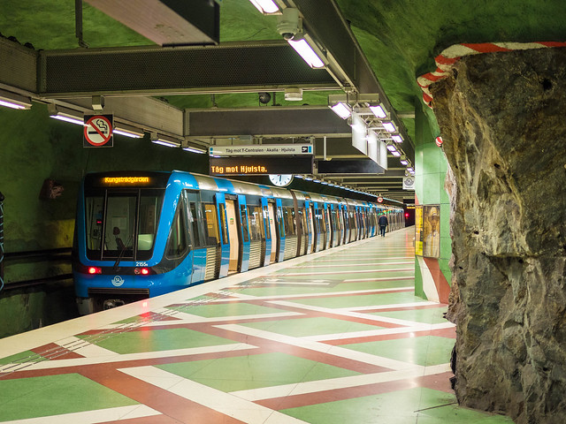 Kungsträdgården T-Bana station Stockholm Sweden
