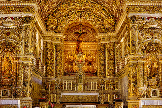 Gilded altar of São Francisco Church and Convent - Salvador | by Phil Marion (173 million views - THANKS)