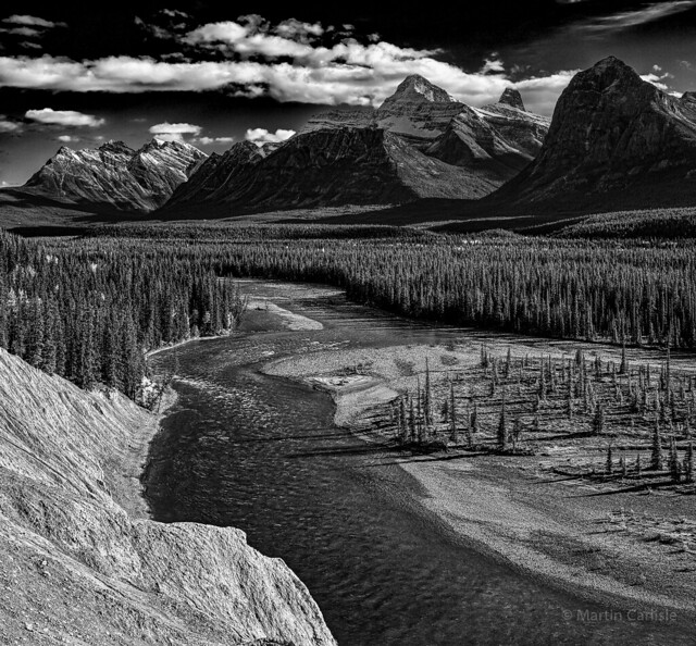 Athabaska River, Mount Fryatt, Mount Christie
