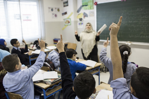 Syrian students are back in class in Beirut, Lebanon | by DFID - UK Department for International Development