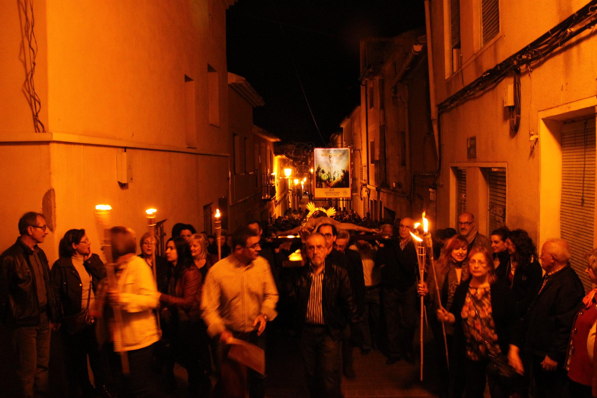 (2014-04-01) -  V Vía Crucis nocturno - Javier Romero Ripoll (133)