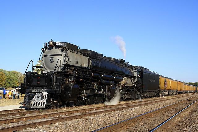 Union Pacific 3985 Sedalia, Missouri