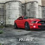 Shelby GT500 on Velgen Wheels VMB5 Matte Gunmetal 20x9 & 20x10.5