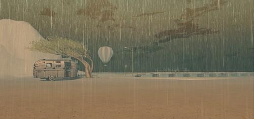 White rain at Furillen | by Pepa Cometa