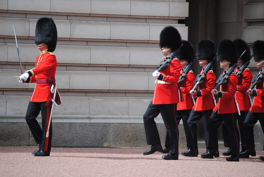 Buckingham Palace Changing of the Guard ceremony