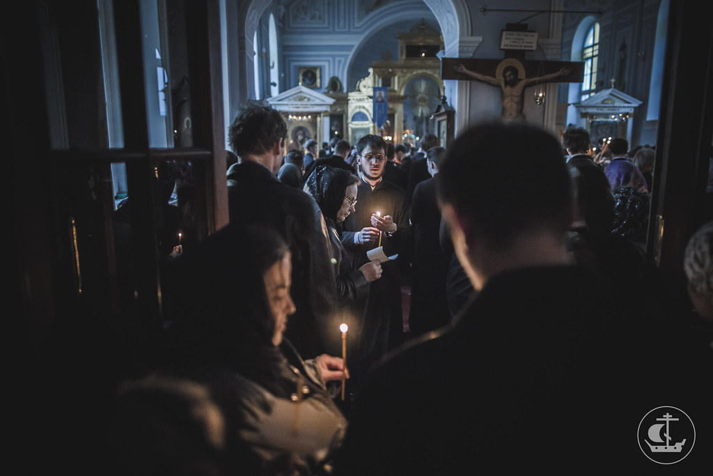 29 апреля 2016, Утреня Великой Субботы / 29 April 2016, Matins of Holy Saturday