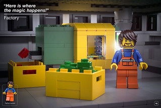LEGO Factory playset - LEGO Factory with moulding machine   by BrickJonas