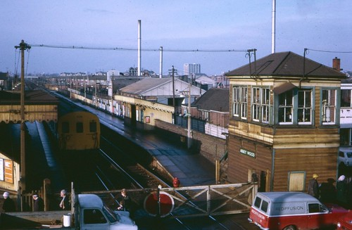 Abbey Wood station in 1972