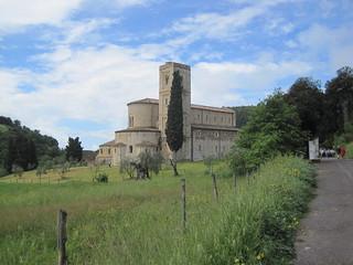 Abbey of Sant'Antimo   by italiantravelphotos
