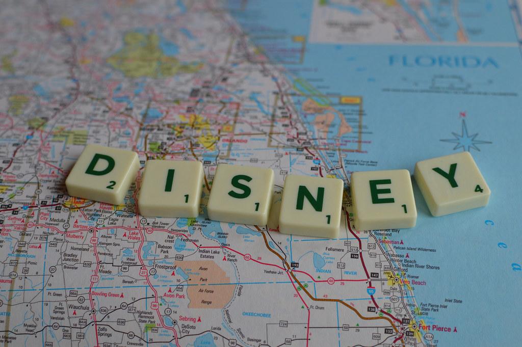 Disneyland Florida Map on