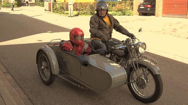 Victoria motorbike meeting in Oberrieden Switzerland 2011