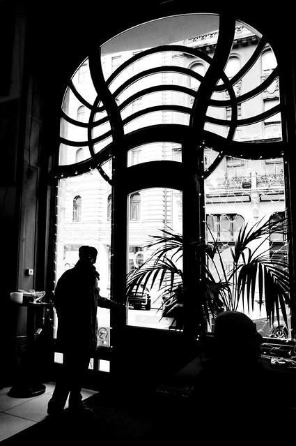 Café in House of Hungarian Art Nouveau
