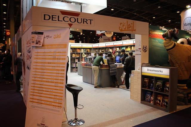 Delcourt Soleil - Livre Paris 2016