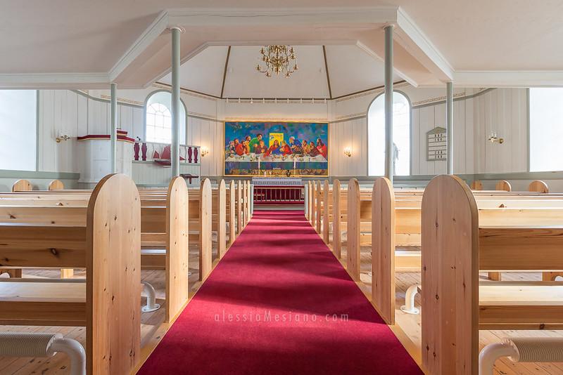 Haldarsvík church