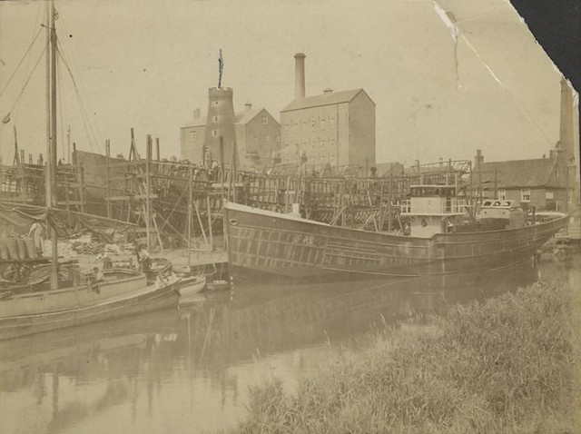 Grovehill shipyard 1880 (archive ref DDX1235-2-1)