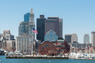Boston Skyline | by wuestenigel