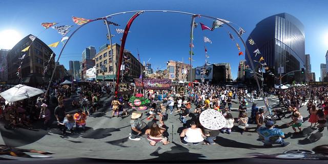 How Weird Street Faire 2016:  360vr