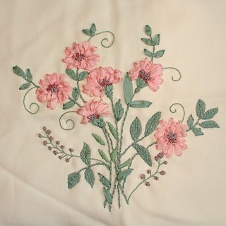SRE = silk ribbon embroidery | by sunshine's creations