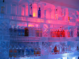 Vodka in the Minus 5 ice bar | by Ruth and Dave