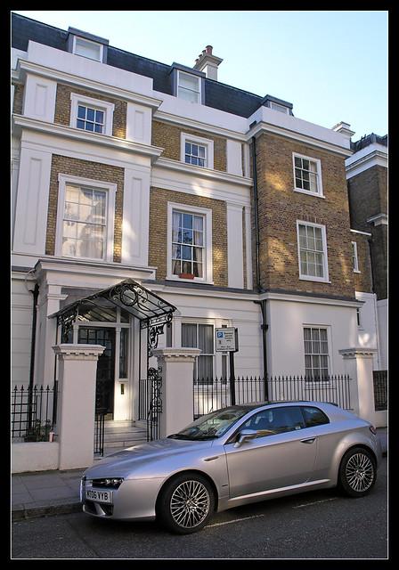 An Alfa Brera in London