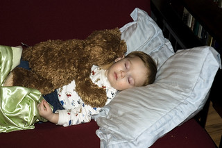 crashed out kid + bear | by cranky pixels