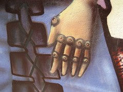 Close-Up on Right Hand (The Michael Jackson One)