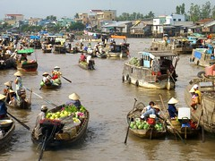 Cai Rang Floating Market - Mekong Delta, Vietnam | by uncorneredmarket