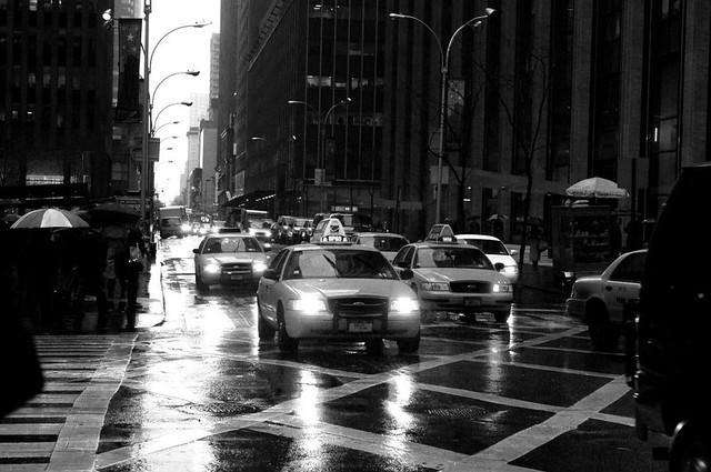 Rainy Friday Morning in NYC