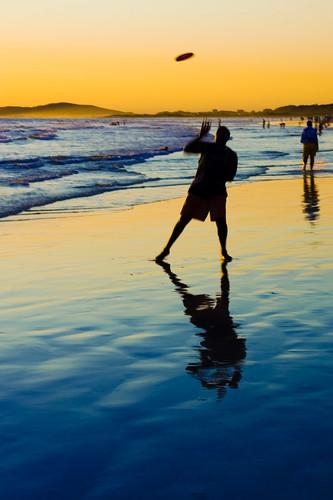 man beach silhouette strand southafrica capetown fav20 blogged fav10 abigfave
