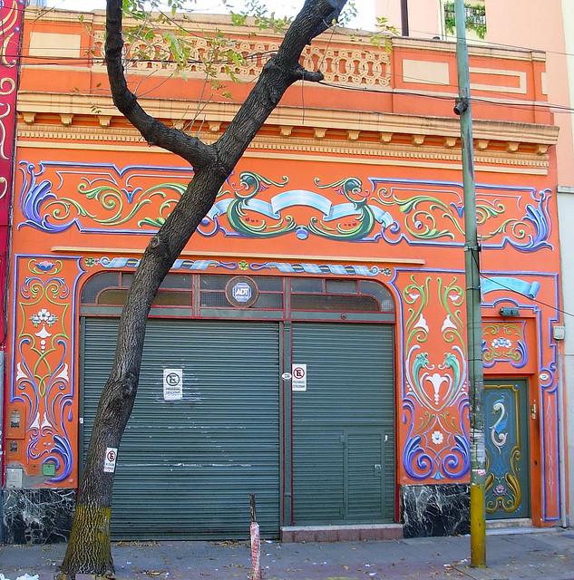 Orange House.  Filete