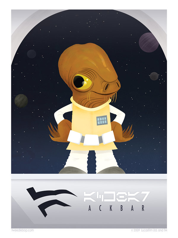 A is for Ackbar