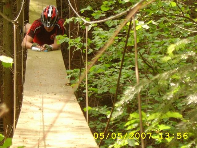 Hegeholz X Auf der Brücke, GCN0CF