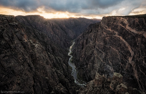 travel autumn sunset fall nature clouds river landscape nationalpark nikon colorado wideangle canyon blackcanyonofthegunnison 2014 d610