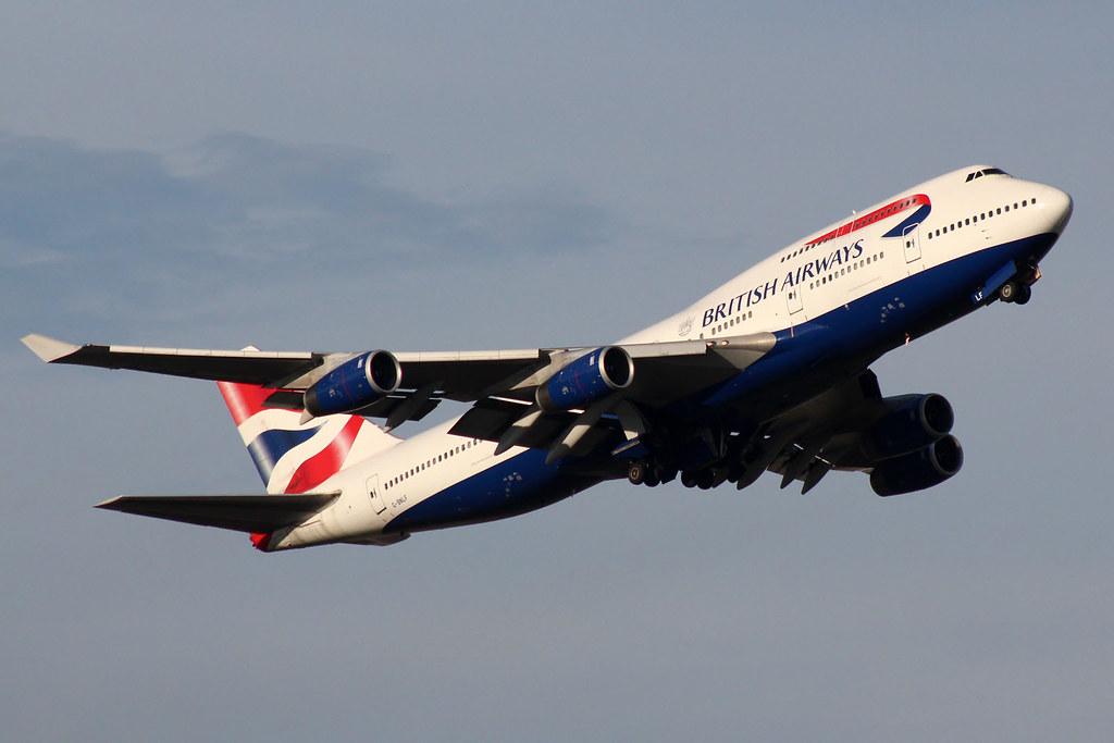 British Airways G-BNLF