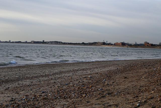 Portsea Island from Hayling Island