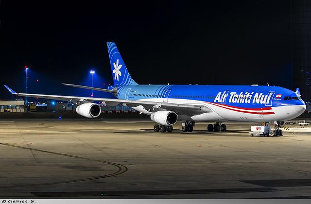 Airbus A340-300 Air Tahiti Nui F-OSEA