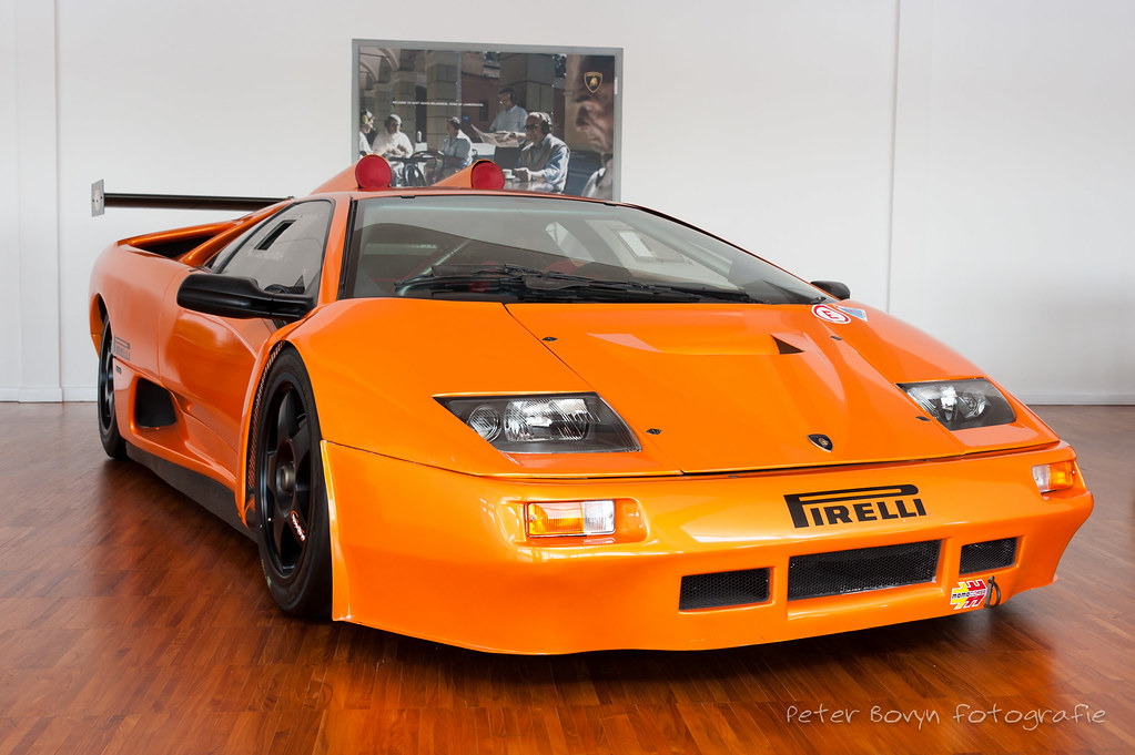 Lamborghini Diablo Gt2 Concept 1998 6 0 Liter V12 640 Hp Flickr