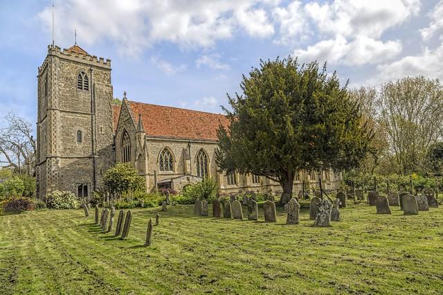 Dorchester Abbey, Dorchester-on-Thames, Oxfordshire, England, UK.