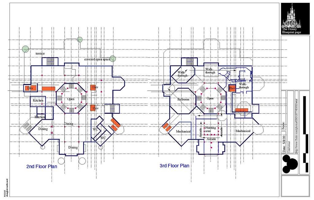 Shanghai Disney Castle Plans Ed Flickr
