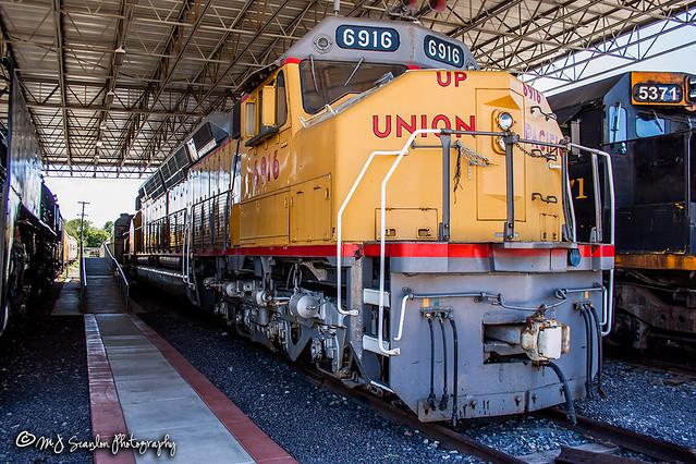 UP 6916 | EMD DDA40X | Utah State Railroad Museum
