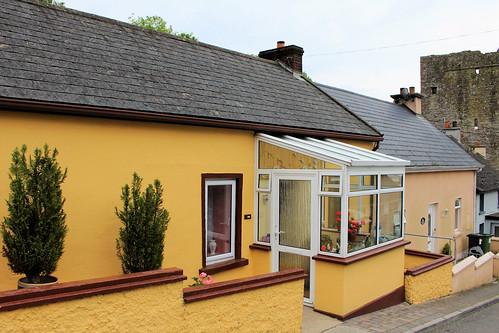 hww porch sunroom ballyhack castle windows wall ireland irish wexford canoneos100d window old